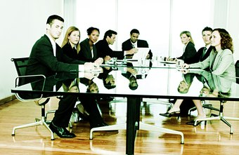 A corporation's board of directors holds the power.