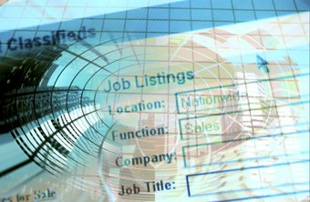 Job advertisements aim to attract the best candidates.