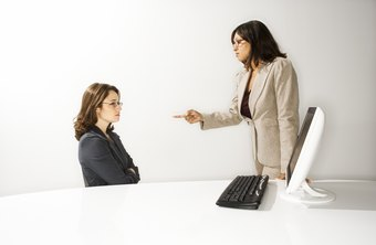 Getting reprimanded by your boss is seldom pleasant.
