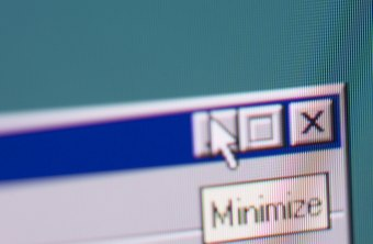 Minimizing has existed since the launch of the first window-based operating system.