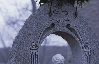 Grave monuments sometimes need repair and re-engraving.