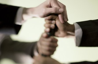 Team-building activities develop trust among employees.