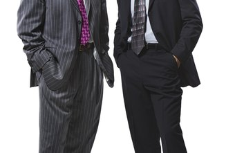 A business suit can improve your self-confidence in an interview.