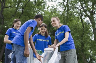 Some volunteer programs help preserve the environment.