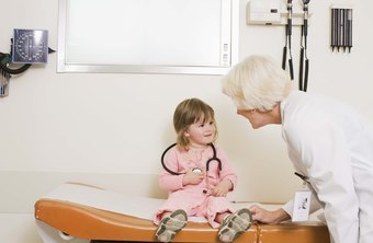 A number of health-care professionals work with toddlers.