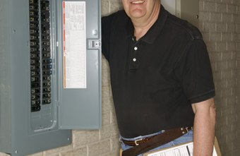 Electricians may work for the federal, state or local governments.
