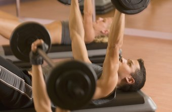 As you perform more strength training, your average bench press weight should increase.