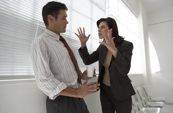 Exploding in anger at your boss is not a good career move.
