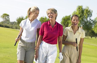 The LPGA arranges tournaments for professional women golfers.
