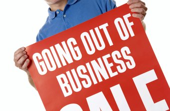 If you sell your business assets when you close, you pay tax on the sale.