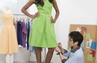 Fashion designers and models often work together.