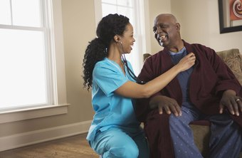 Some licensed nurses provide care for patients in their home.
