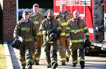 Chaplains tend to a fire department's emotional and spiritual needs.