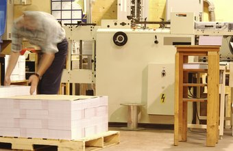 Bindery operators operate advanced folding and cutting machinery.