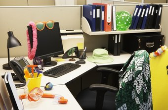 Decorations for one employee can be clutter to another.