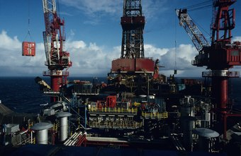 Petroleum engineers supervise the extraction and exploitation of oil and gas reserves.