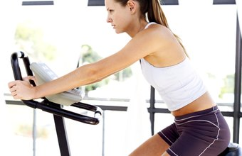 Indoor cycling classes mimic outdoor workouts.