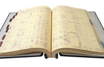 Folio numbers were a critical part of manual bookkeeping systems.