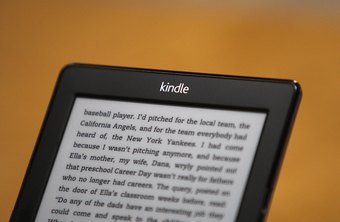 Kindle's reset feature is handy for restoring the device to a working state.