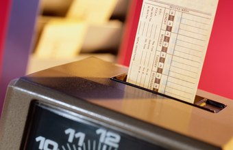 Time-tracking applications are more efficient than antiquated punch card machines.