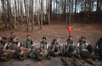 Marine Corps boot camp lasts 12 weeks.