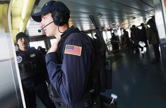 Security of American ports and waterways is part of the responsibility of Coast Guard agents.