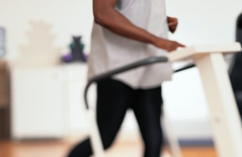 Treadmill intervals can help decrease belly fat.