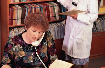 A medical receptionist puts patients at ease on the phone and in person.