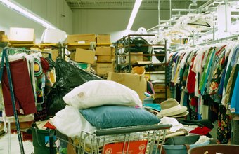 Thrift stores often sell more than just clothing.