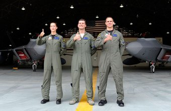 U.S. military pilots undergo rigorous selection and training.