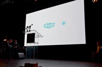 Skype provides video interactivity for public as well as for private calls.