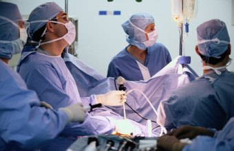 During operations, surgical techs must often stand for extended periods.