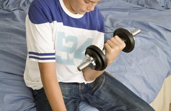 Youngsters need to learn the right way to work out before doing it on their own.