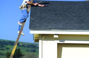 Roofers often work with asphalt shingles.