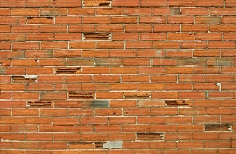 Bricks vary in color according to the color of the clay.