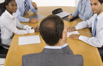 Annual shareholder meetings should follow a pre-determined format.