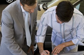 Car salesmen must know their dealership's makes and models inside and out.