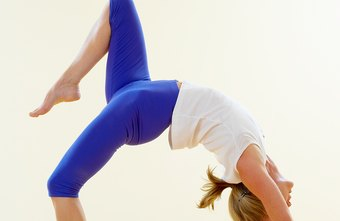 For a challenge, do back bends to stretch the fronts of your hips.