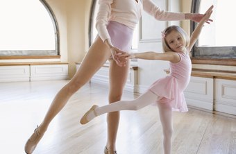 Dancers learn their profession at a young age.