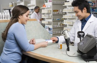 Pharmacy assistants and technicians work directly with customers.