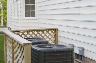 An HVAC unit itself has limited value as a newspaper ad visual.