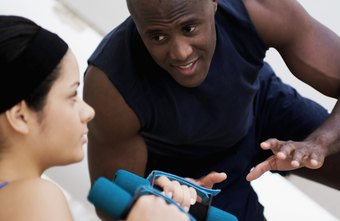 A personal trainer can provide motivation to stick to your exercise routine.