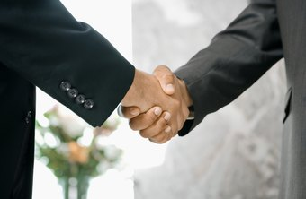A firm grip defines a confident handshake.