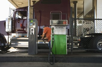 HIgher fuel prices are expected to have little impact on the employment of truckers.