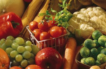 Fruits and veggies are rich in fiber.