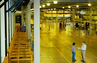 Large companies often have their own distribution centers.