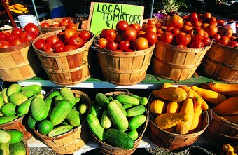Using seasonal area produce adds pizazz to menus and stimulates the local economy.