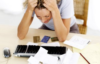 Unpaid credit card bills could leave you facing legal trouble.