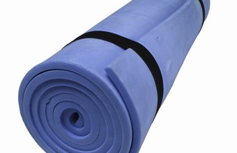 Yoga mats offer more stability, but can be tougher to transport because of their bulkier dimensions.