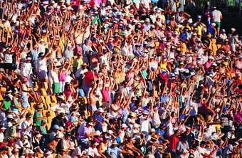 Sociologists may study how crowds interact.